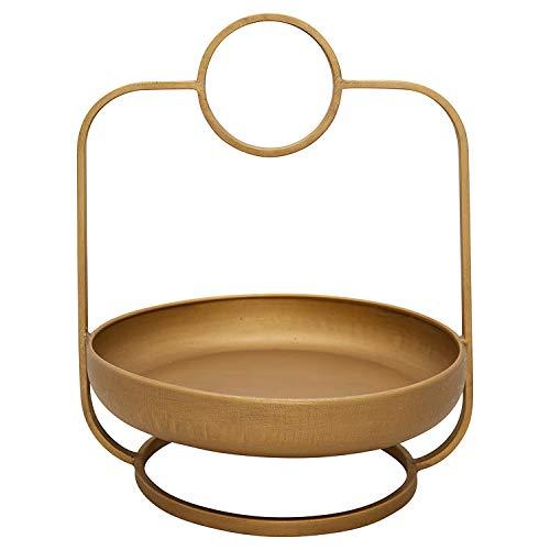 GreenGate Etagere 1 Etage Gold Metall RUND 26x30 cm Tischdeko Hochzeitsdeko