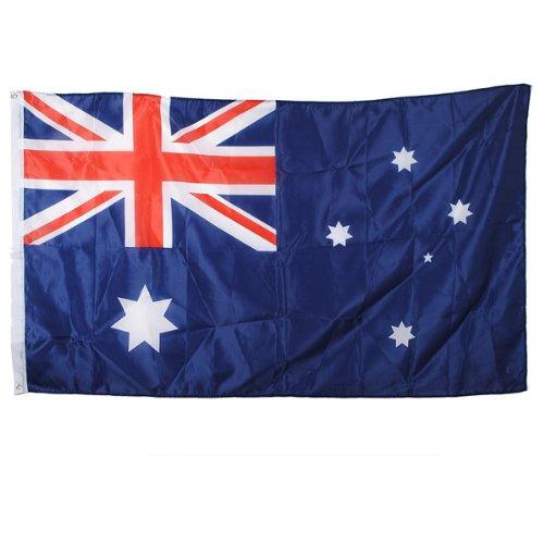 Australien Australia Flagge Fahne Hissflagge mit Ösen 90 x 150 cm Polyester