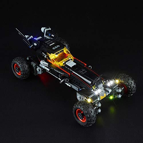 Nlne Juego De Iluminación LED para Bloques De Construcción (Batman Chariot) Modelo - Kit De Luz LED Compatible con Lego 70905 (NO Incluido El Modelo)