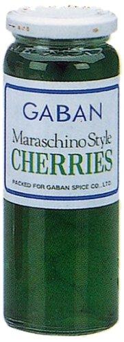 ギャバン マラスキノチェリー 緑 220g