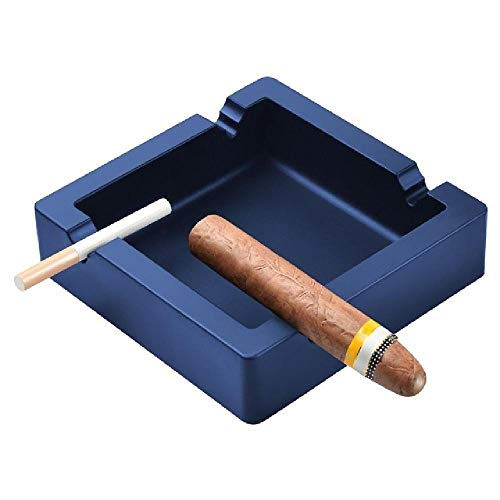 NOBRAND Cenicero de Coche cenicero de cigarro cenicero de Cigarrillo Grande Negro 4 cenicero de cigarro de Silicona al Aire Libre Indestructible de Doble Uso para terraza/Salida