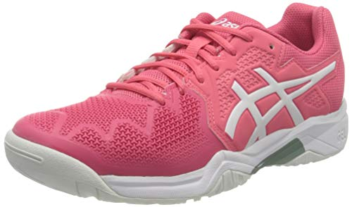 ASICS Gel-Resolution 8 GS, Scarpe da Tennis, Pink Cameo/White, 39.5 EU