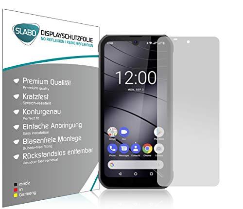 Slabo 4 x Bildschirmschutzfolie für Gigaset GX290 Bildschirmfolie Schutzfolie Folie Zubehör No Reflexion MATT