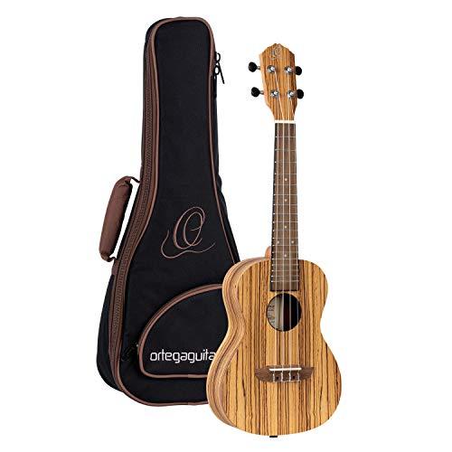 Ortega Guitars Konzert Ukulele - Timber Series - inklusive Gigbag - Zebrano, Mahagoni (RFU11Z)