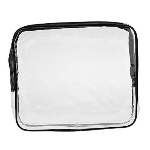 Preisvergleich Produktbild P Prettyia Reiseset Kosmetik Beutel,  Transparenter Kulturbeutel Kosmetiktasche Make-up Taschen - Mitte