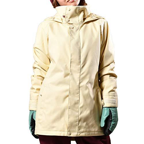 Burton Damen Skijacke / Snow Jet Set Creme Brulee Damen – Größe XS – Weiß