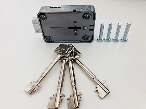 Tresorschloss 71111 inkl. 4 Schlüssel 90 mm