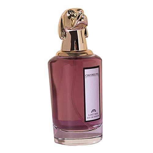 Milageto Unisex cálido y acogedor exquisito Perfum duradero ligero incienso Animal botella para Mujeres Hombres - El Sr. Perro