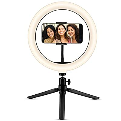 Ring Light 10 with Tripod Stand  Phone 06042021015644