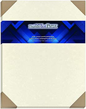 25 White Parchment 65lb Cover Weight Paper 11  X 14   11X14 Inches  Scrapbook Picture-Frame Size - Printable Old Parchment Semblance