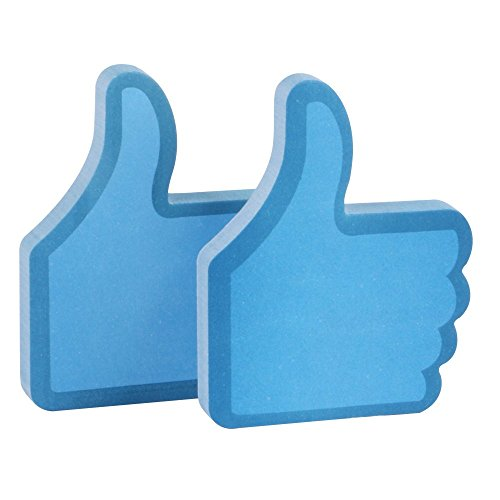 Eagle 100 Sheet Sticky Notes - Thumbs Up Blue