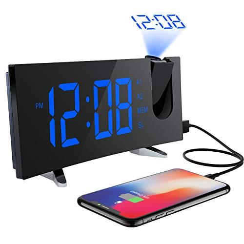 pictek Clock with Projection