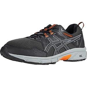 ASICS Men's Gel-Venture 8 Running Shoe, 11, Black/Sheet Rock