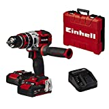 Einhell TE-CD 18 Li-i BL Power-X-Change - Taladro percutor...