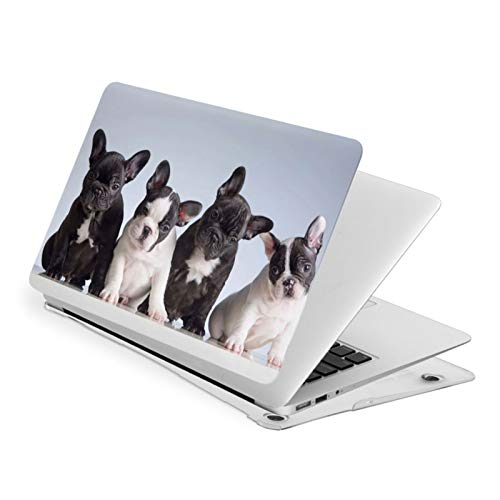 Cute French Bulldog Puppies Case for MacBook Air 13 Inch Case Fit A1369 A1466 Laptop Slim Hard Shell Plastic Protective Cover