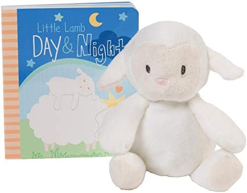 C R Gibson Little Lamb Day and Night Storytime Baby Book Gift Set product image