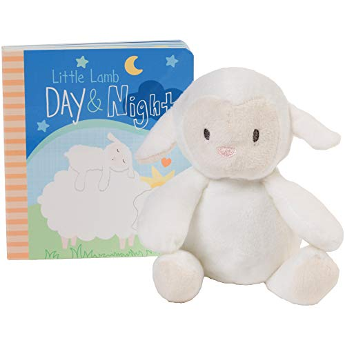 C.R. Gibson Little Lamb Day and Night Storytime Baby Book Gift Set