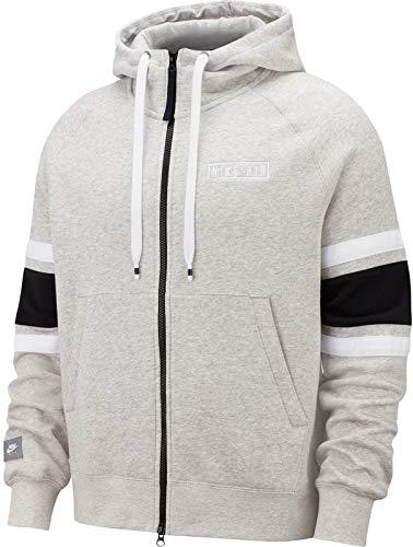 Nike Air Sweatshirt, Herren M graues Heidekraut/weiß/schwarz/weiß