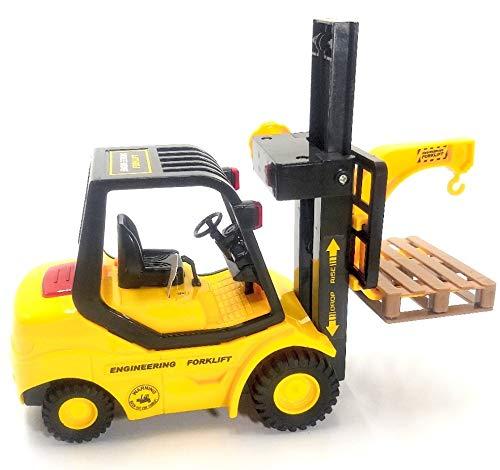 Truck City Services, Gabelstapler & Palette. Modellmaßstab 1:16. Ab 3 Jahren
