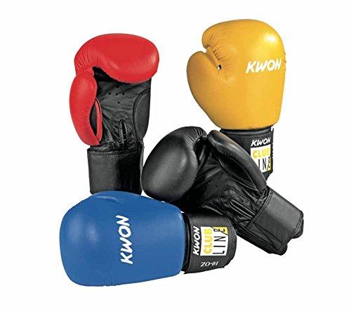 KWON Boxing Glove POINTER blau-schwarz