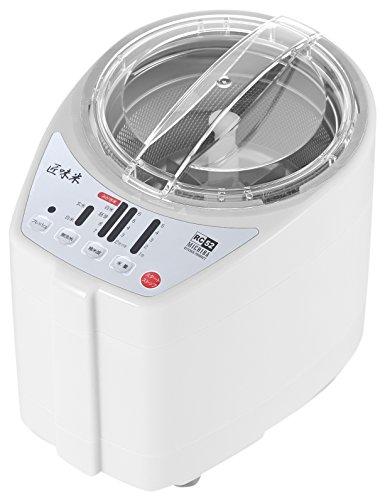 山本電気 家庭用精米機 MICHIBA KITCHEN PRODUCT 匠味米 ホワイト MB-RC52W