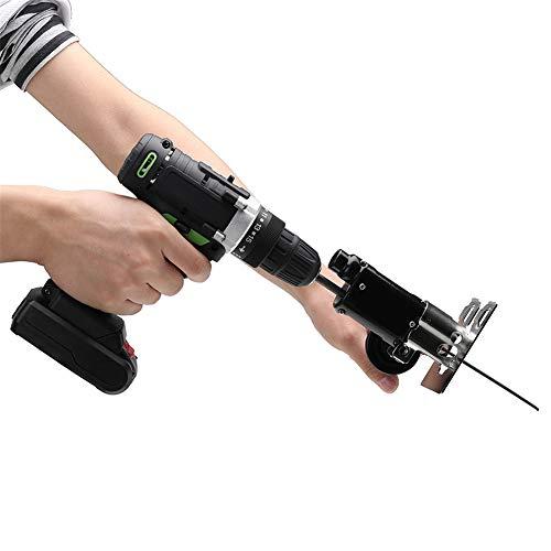 Accesorio de vaivén sierra, taladro eléctrico Cambio en sierra de vaivén sierra de calar lima de metal para cortar madera metal