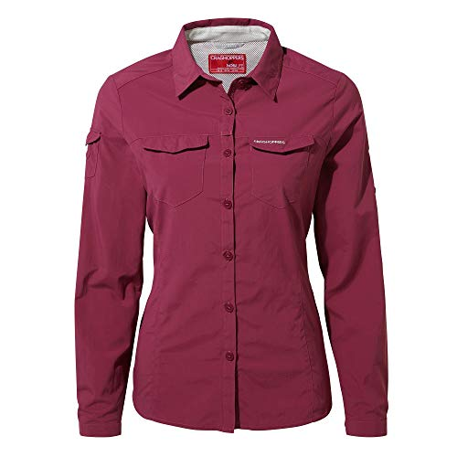 Craghoppers NosiLife Adneture II Long Sleeved Shirt pink - 42