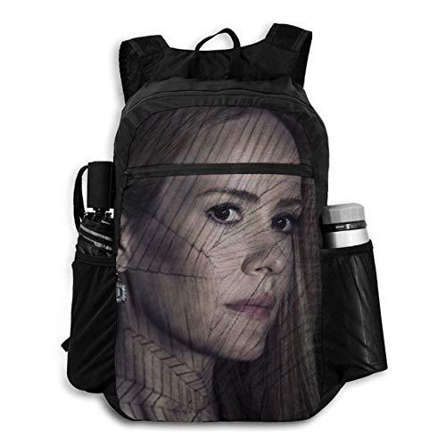 Meng Beast TV American Horror Story Backpack Travel Duffel Storage Packet Foldable Waterproof Large Capacity Lightweight Portable High Capacity Shoulders Backpacks Carry on Luggage Bags