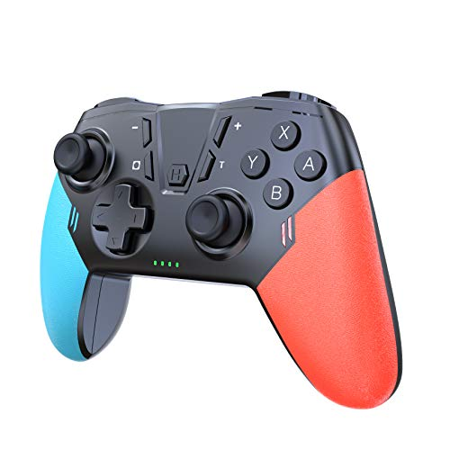 Wireless Switch Pro Controller for Nintendo Switch Controllers, Uberwith Pro Controller Gamepad Joystick with Amibo & Awake-up Gyro Axis,Dual Vibration,Turbo,Capture Function,Motion Control