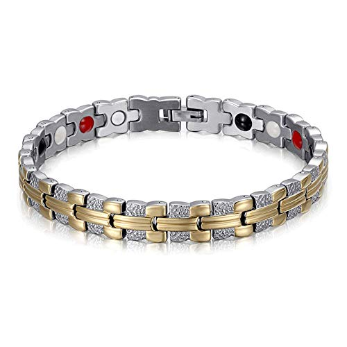 Magnetic Healing Link Bracelet For Arthritis, Migraine & Pain Relief, Osteoarthritis, Menopause Support, Hot Flushes, Carpal Tunnel Men & Women