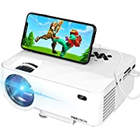 TopVision T21 1080p Mini Projector with Synchronize Smart Phone Screen