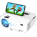 Mini Projector, TOPVISION Projector with Synchronize Smart Phone Screen,1080P Supported, 176' Display, 50,000 Hours Led, Compatible with Fire Stick,HDMI,VGA,USB,TV,Box,Laptop,DVD