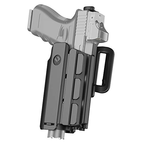 Orpaz Light Bearing Holster Compatible with Streamlight TLR-2 and SureFire X400 (with Belt Attachment)