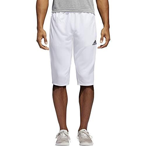Adidas Tiro 17 - Pantalón de deporte (talla 3/4), color negro