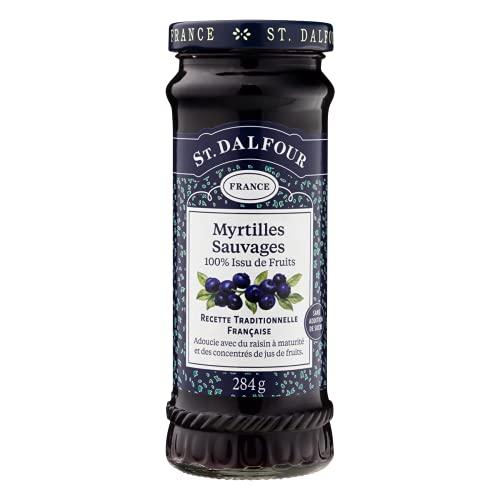 St. Dalfour Preserves, Wild Blueberry 10 oz