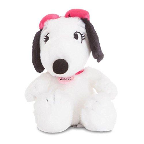 Aurora 60569 Peanuts Snoopy's Sister Belle Soft, 60570, 17,8 cm, weiß, großes Kuscheltier