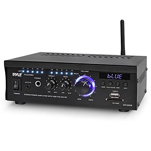 Wireless Bluetooth Home Stereo Amplifier - 2x120 Watt Power Amplifier...