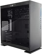 In Win 303 Mini-Tower Negro - Caja de Ordenador (Mini-Tower, PC, SECC, Vidrio Templado, Negro, ATX,Micro ATX,Mini-ATX, 16 cm)