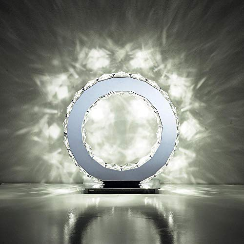 Diyas IL70042 Galaxy Mesa redonda 10W LED 6000K cromo pulido/cristal