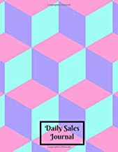 """Daily Sales Journal: Daily Weekly Monthly Entry Management Control, Accounting Bookkeeping and Stock Record Tracker Inventory Log Book Journal ... 8.5""""x11"""" with 120 pages (Sales Record Book)"""