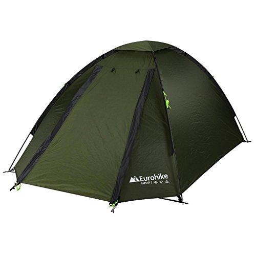 Eurohike Tamar 2 Man Tent, Green, One Size