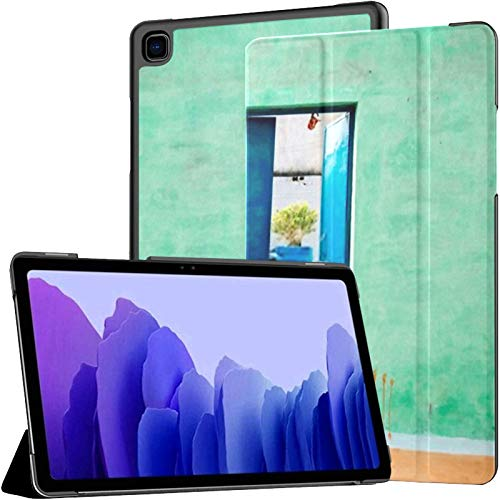Samsung A7 Tablet Case Colorful House Exterior India Case For Samsung Galaxy Tab A7 10.4 Inch 2020 Release Protective Case Samsung Galaxy A7 Case Cover Tablet Pu Leather Case
