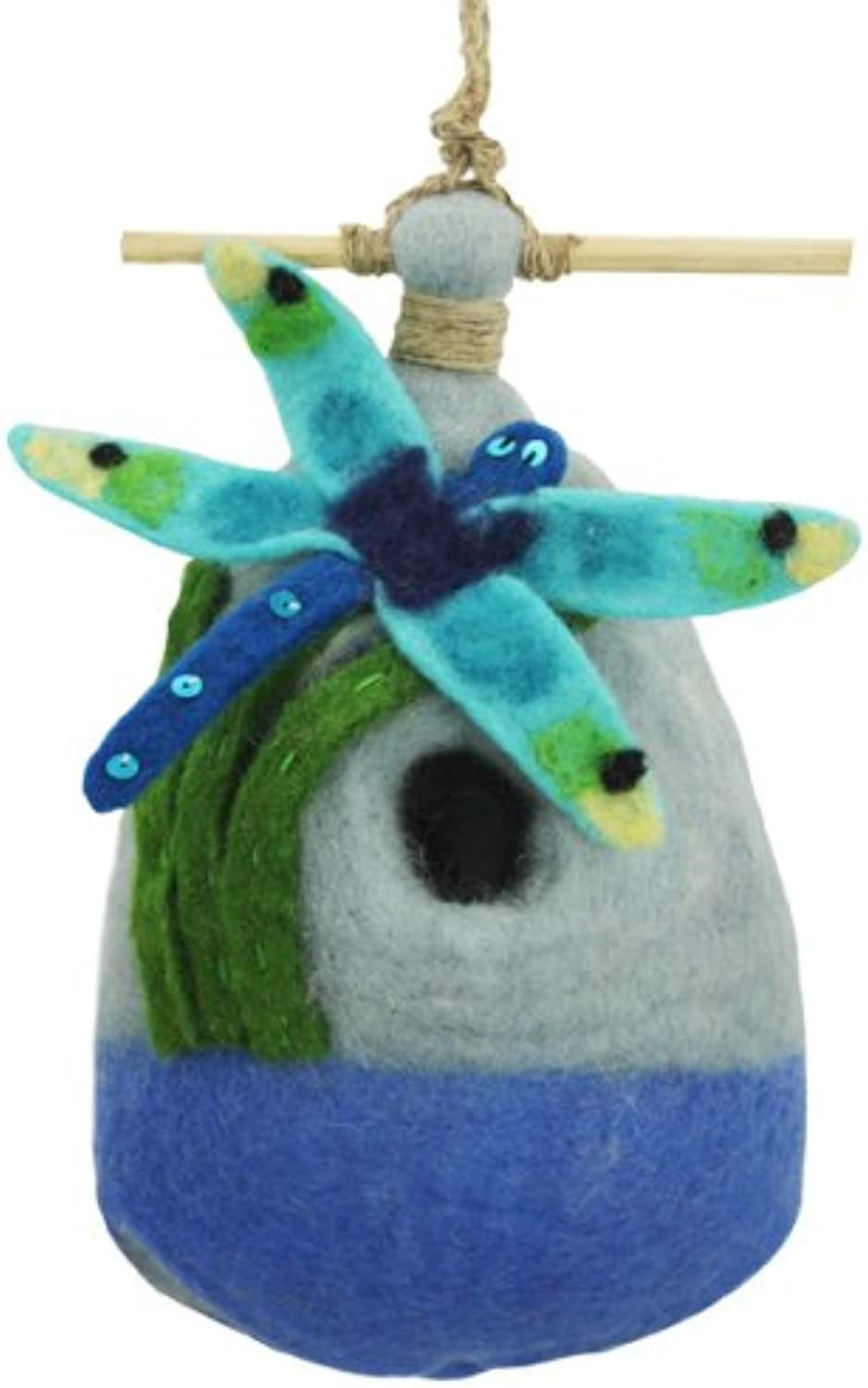Big Dragonfly Felt Birdhouse [Kitchen & Home]