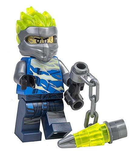 LEGO Ninjago: Jay FS (Spinjitzu Slam) con arma de cadena