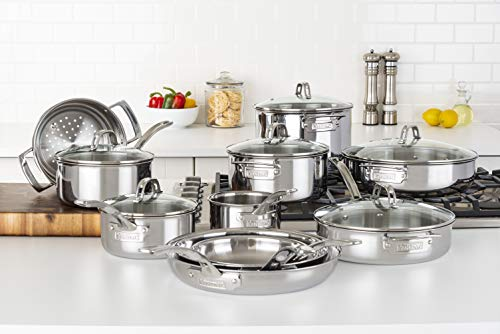 Viking Culinary 40011-9997 Cookware Set, Multiple, Silver