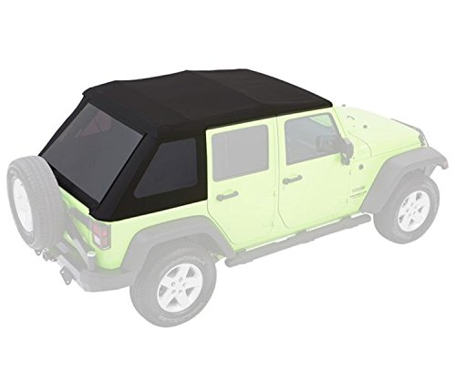 Bestop 5492335 Black DiamondTrektop NX Glide Convertible Soft top 4-door