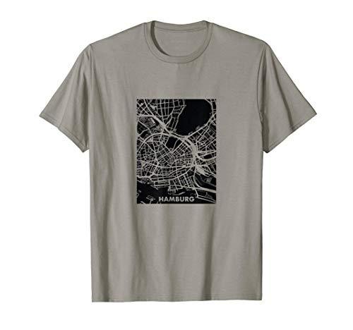HAMBURG // Stadtplan T-Shirt