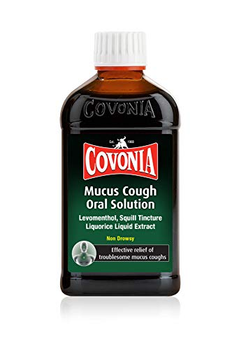 Covonia Mucus Cough Oral Solution for Mucus Cough, 300 ml