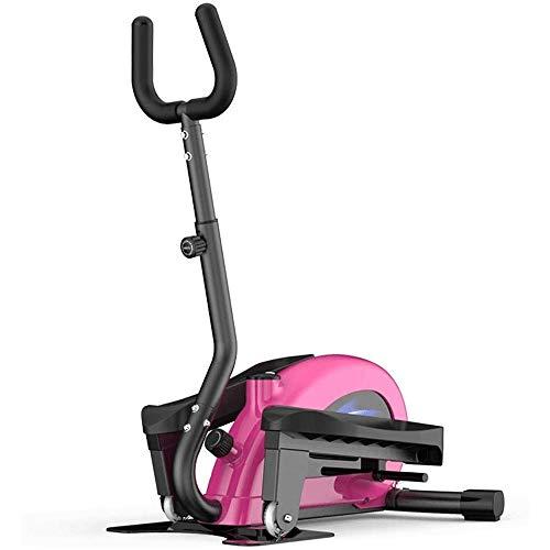 Hammer Magnética entrenador elíptico de la bicicleta estática máquina con pantalla LCD Monitorer, apretones del ritmo cardíaco del pulso, paso a paso, Mini elíptica máquina caminadora, Home Fitness Eq