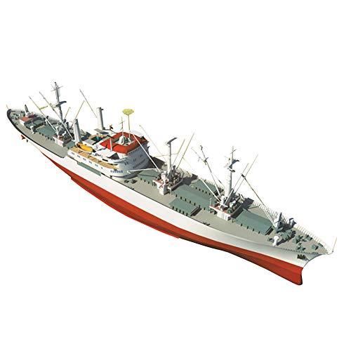 X-Toy Military Paper Puzzle Modell Spielzeug, 1/200 Maßstab Deutsche Cap San Diego Freighter Kinder Spielzeug Und Geschenke, 33.3Inchx8.2Inch